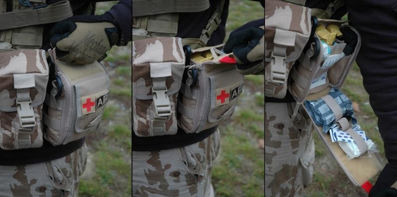 """Recenze: Lékárnička """"AFAK"""" – Aegis First Aid Kit – první seznámení"""