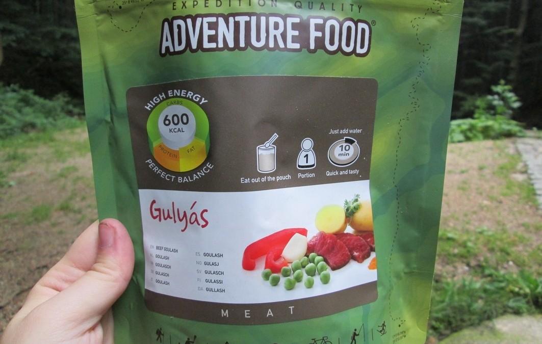 Recenze: Adventure Food – potravinové dávky pro cestovatele