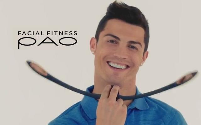 Facial Fitness PAO – trenažér, který doporučuje i Ronaldo (VIDEO)