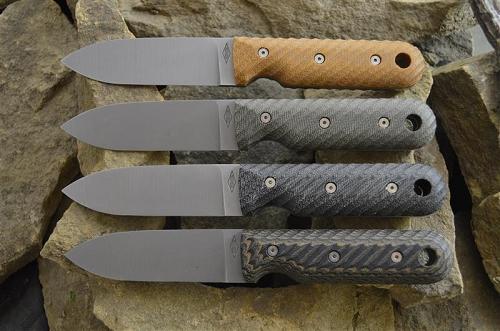 Série nožů Bushcrafter od Battle Horse Knives