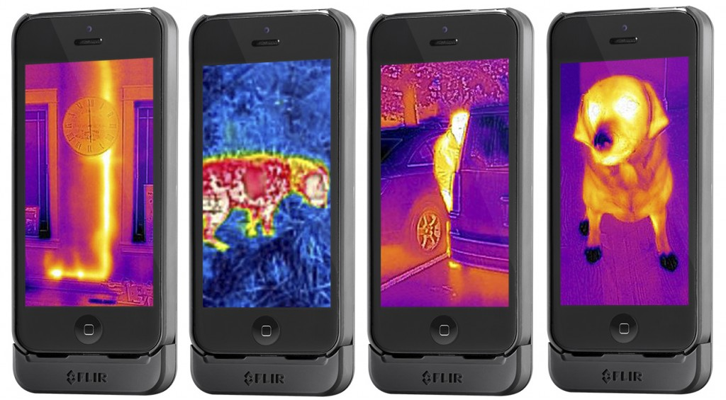 FLIR One — udělejte z mobilu termokameru