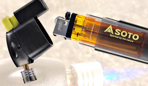 Soto Pocket Torch – plynový hořák z běžného zapalovače