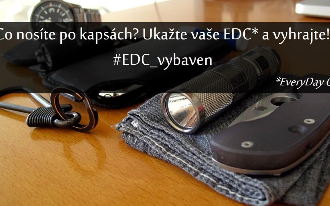 První EDC soutěž na Vybaven.cz!