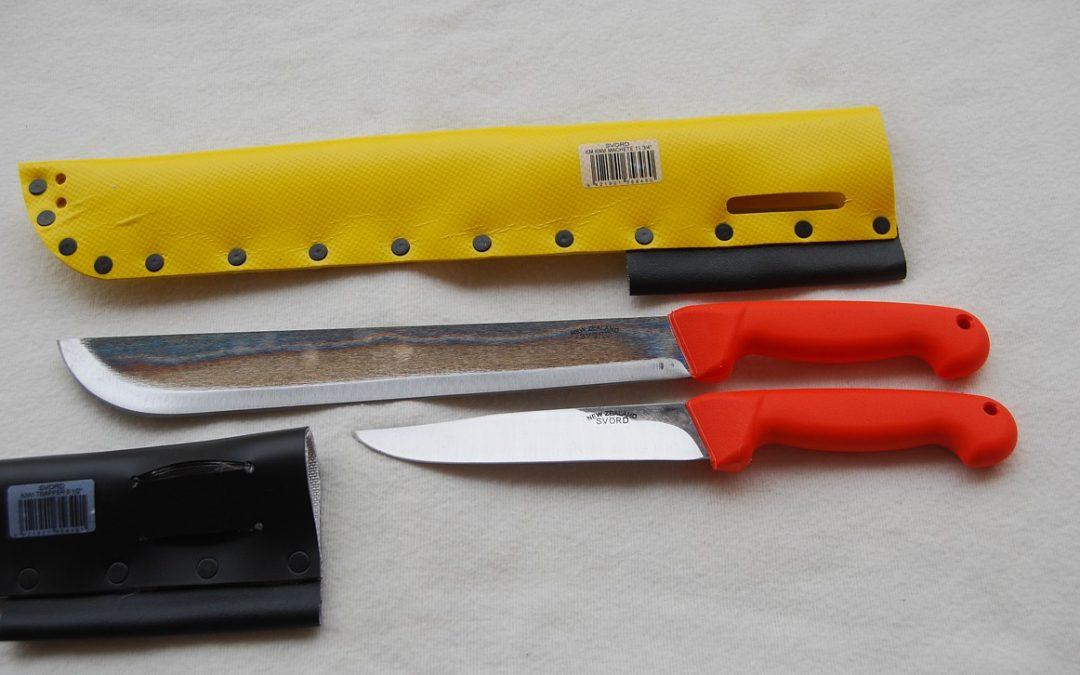 Recenze: Nože Svörd z Nového Zélandu – první dojmy