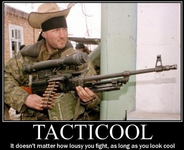 Tacticool vychytávky – 1. díl