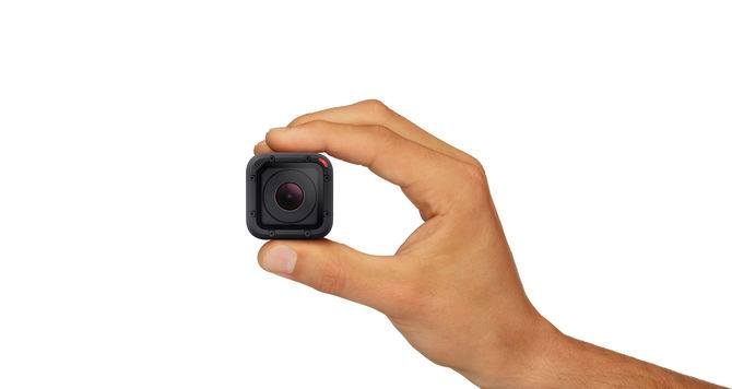 GoPro představuje svou nejmenší kameru Hero4 Session