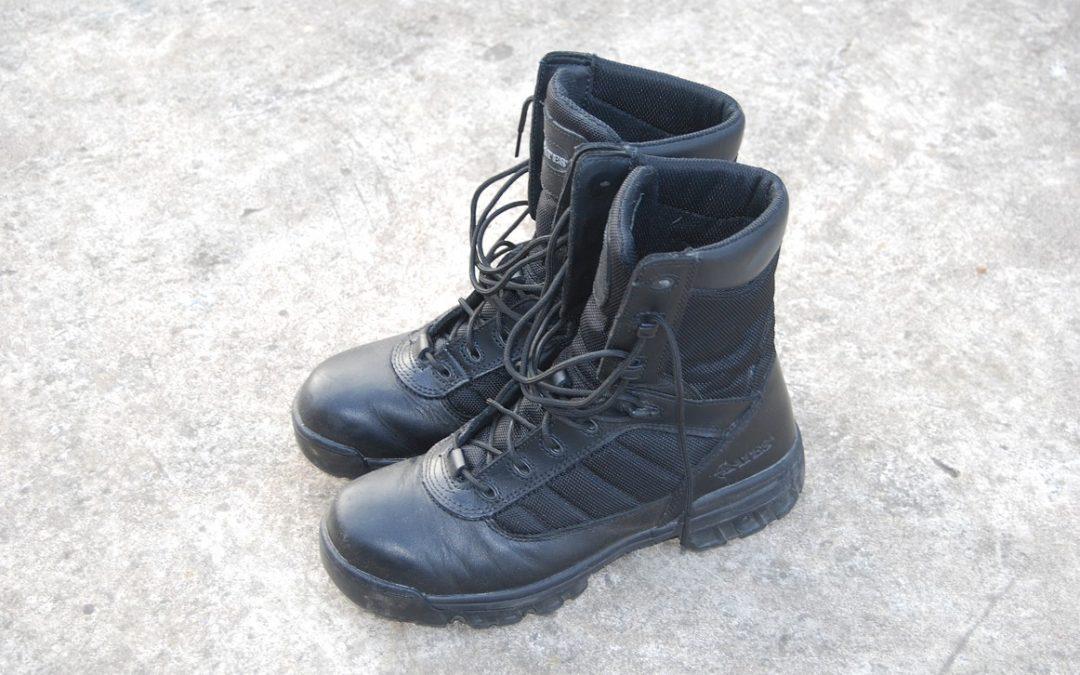 Recenze  Taktické boty Bates Enforcer - po necelém roce nošení 0df8044e07