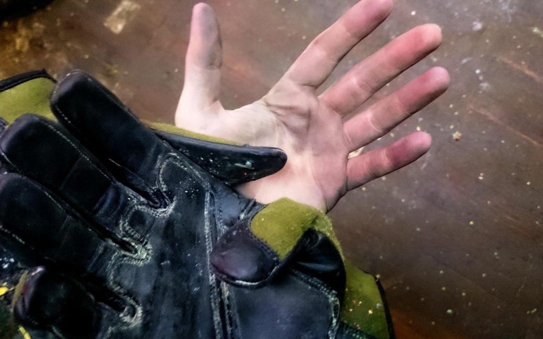 Recenze: NoName rukavice z Pakistánu za pár šupů