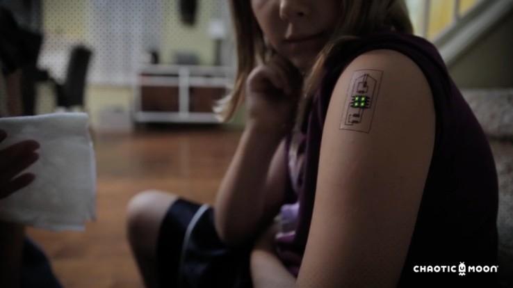 Chytré tetování sleduje váš fyzický stav