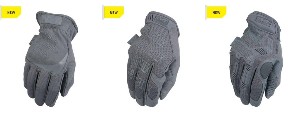 Společnost Mechanix představila novou barvu rukavic – Wolf Grey