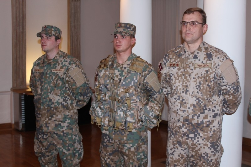 MultiLATPAT – nový maskovací vzor a uniforma lotyšské armády