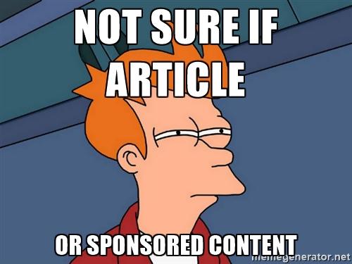 """Jak číst VYBAVEN.CZ? Mám se bát """"sponzorovaného"""" obsahu?"""
