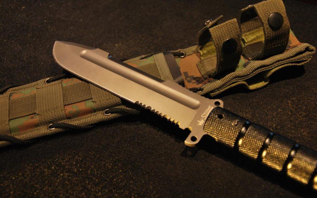 Recenze: Nůž Kizlyar Supreme – Survivalist Z – Big Fuc*ing Gun