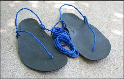 Xero Shoes DIY kit – vyrobte si vlastní sandály