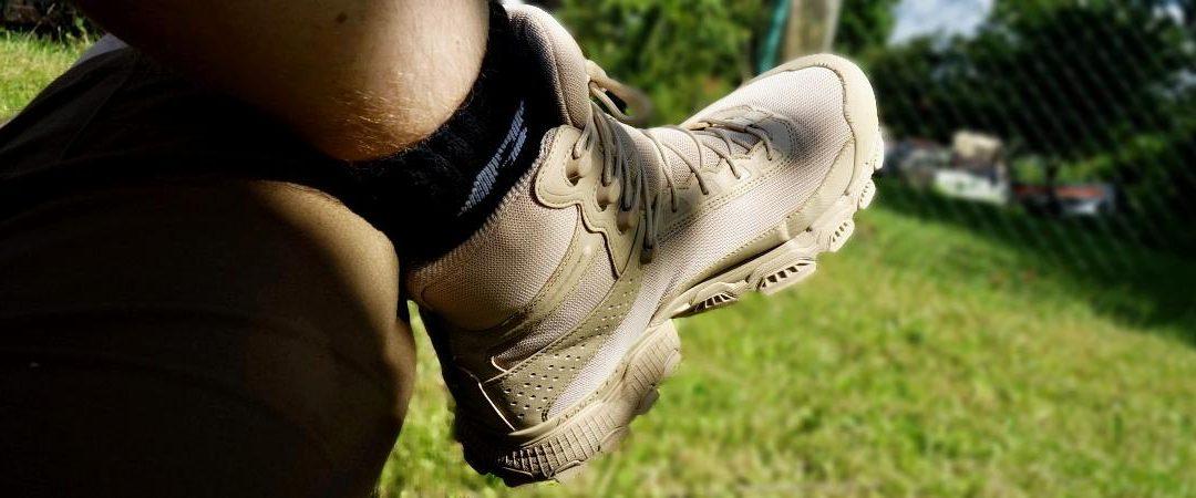 """Recenze: Kanady Under-Armour Valsetz 7"""" – muší váha mezi vojenskou obuví"""