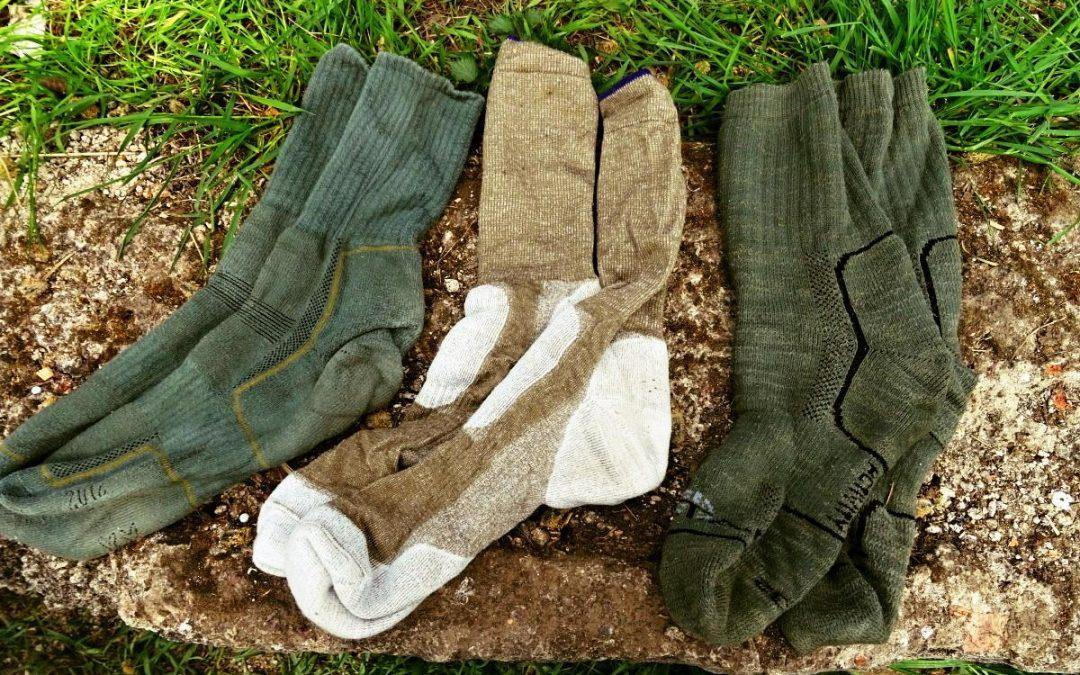 Srovnání ponožek: BATAC, Armadillo a AČR vz.2000