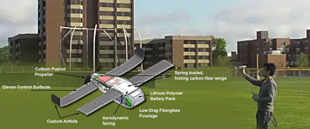 Projekt Perdix – Roj autonomních mikro dronů