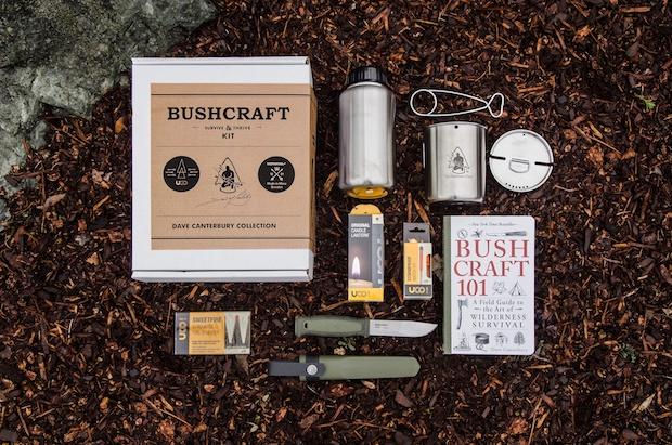 Morakniv Bushcraft kit – pokračování spolupráce Morakniv a Davida Canterburyho