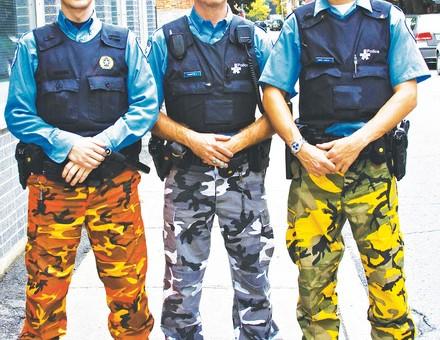 Kalhotová stávka policistů v Montrealu