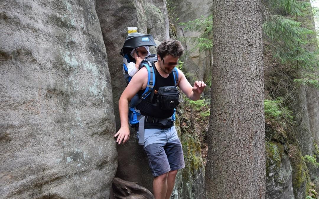 Recenze: Dětský turistický nosič Neverland Kangoo