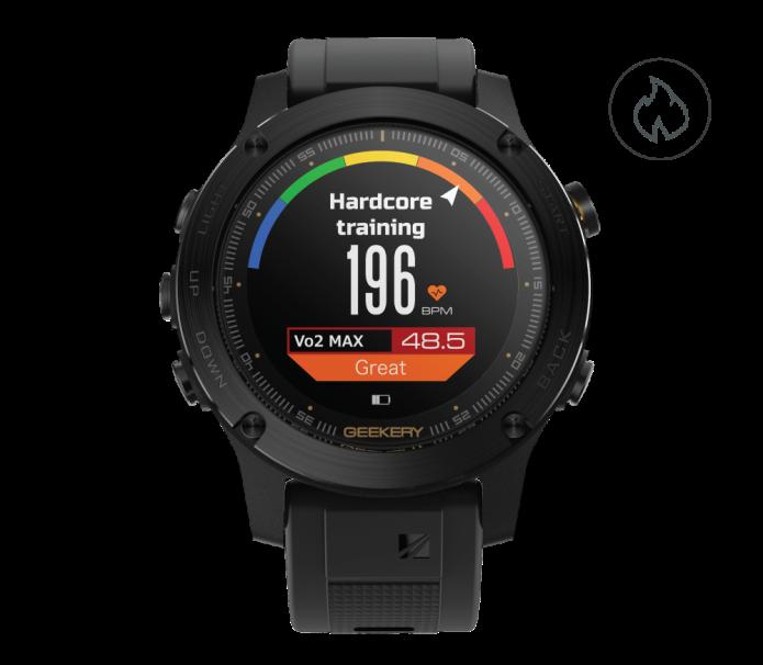 Hodinky Ironcloud od Geekery  – chytré hodinky pro sport i outdoor