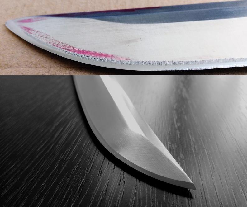 Recenze: Brusírna Ostrá Pošta – test broušení 5 nožů